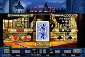 Big Ben Pokie Gamble Feature