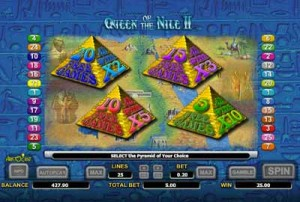Feature selection for Queen of the Nile